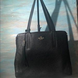 Authentic Kate Spade pebbled leather large handbag